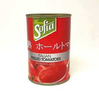 完熟ホールトマト4号缶 E.O.缶