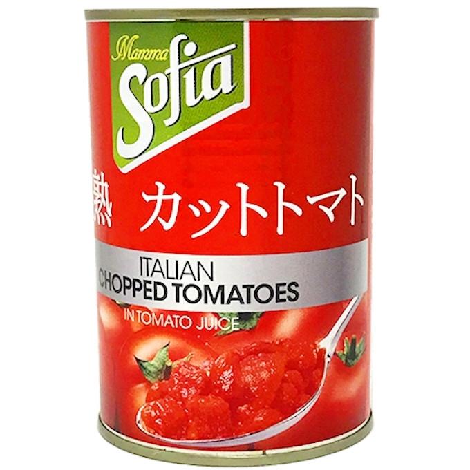 完熟カットトマト 4号缶 EO缶