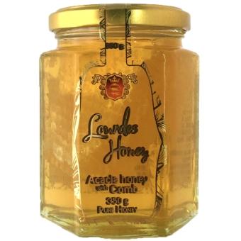 ハンガリー産巣はちみつ入りアカシア蜂蜜 (350g)