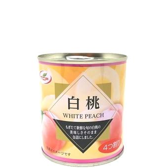 白桃缶詰 5号缶 4つ割り EO缶