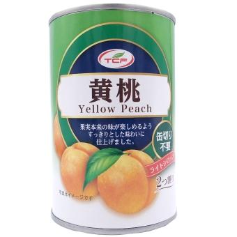 黄桃缶詰 4号缶 2つ割り EO缶