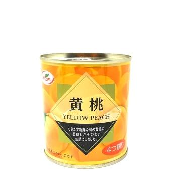 黄桃缶詰 5号缶 4つ割り EO缶