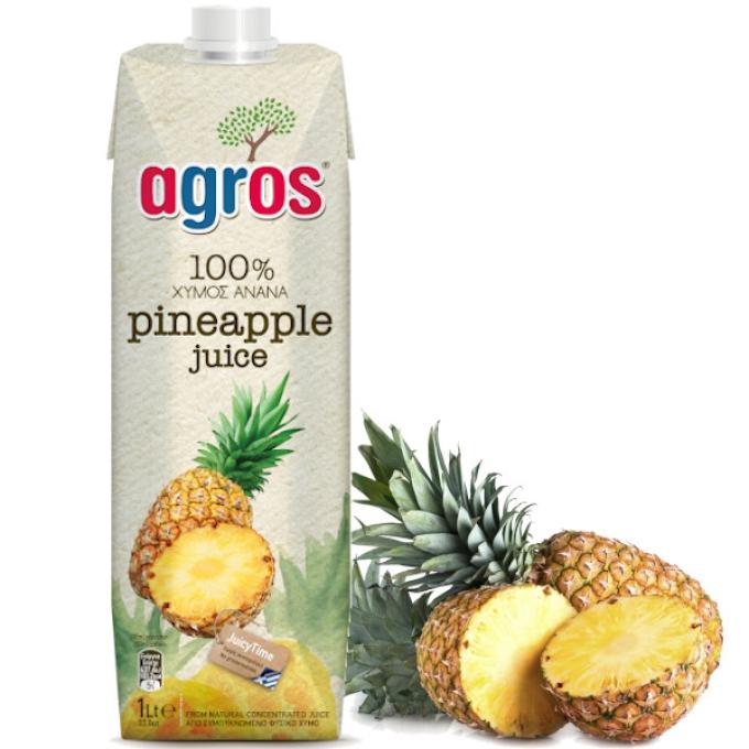 アグロス パイナップルジュース (1L)