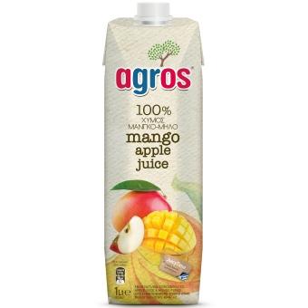 アグロス マンゴー&アップルジュース (1L)