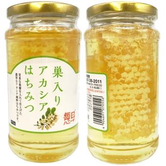 巣入りアカシア蜂蜜 (475g)