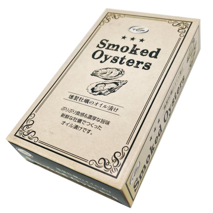 燻製牡蠣のオイル漬け (85g)